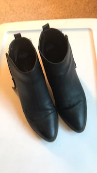 Boot shoes color black  Troy, 12180