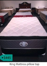 King mattress pillow top  La Mirada