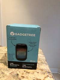 Black blue tooth speaker / new in box not negotiable