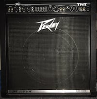 used peavey tnt 115 bw bass guitar amp for sale in chestnuthill letgo. Black Bedroom Furniture Sets. Home Design Ideas