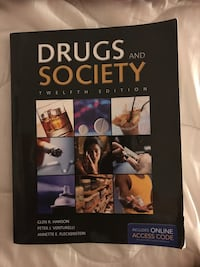 Drugs & Society Text Book San Diego, 92114