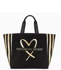 black and gold Victoria's Secret PINK bag Winnipeg