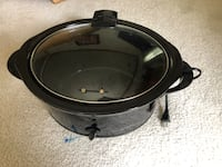 round black and gray slow cooker 169 mi
