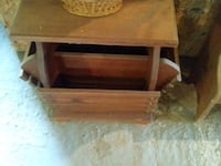 Wooden end table with multiple holders. Hamptonville, 27020