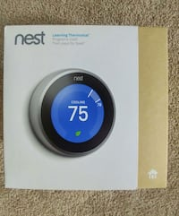New Nest learning thermostat gen 3 Elsmere