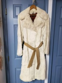 Rabbit Fur, Fully Lined, Full Length, Leather Bel Nottingham, 21236
