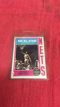 Julius Erving aba all-stars Bakersfield, 93309