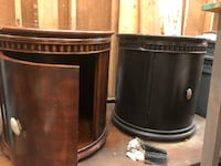two black-and-gray metal containers Woodbridge, 22192