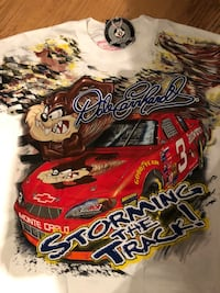 Dale Earnhardt Looney Tunes Graphic T-shirt Brand New w/ Tags Washington, 20037
