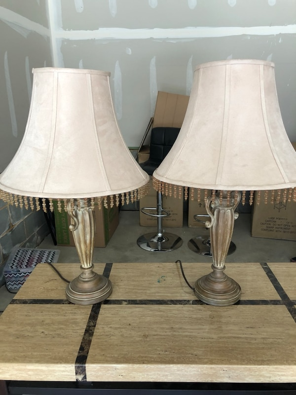 Suede Lamps