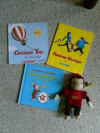 Curious George plush and books  Westminster, 21158