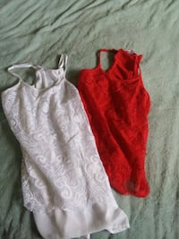 toddler's red and white onesie Carson City