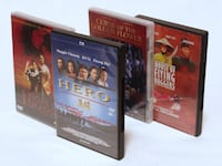 4 WUXIA FILME - TIGER & DRAGONS + HERO + 2 WEITERE