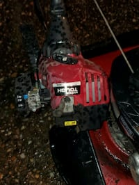Bigger & station 500e lawnmower & hyper tough h2500 weedeater