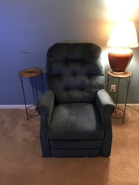 Electric powered recliner and lift chair