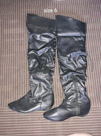 Size 6 women's knee high boots Las Vegas, 89145