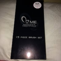 Makeover Essentials: 15 piece brush set (Never Opened) Burke, 22015