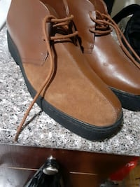 Mens leather shoes 40 $$$ for both pair