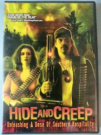 Hide and Creep dvd