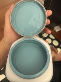 Paint sample of Sherwin Williams Secret Cove Gaithersburg, 20877