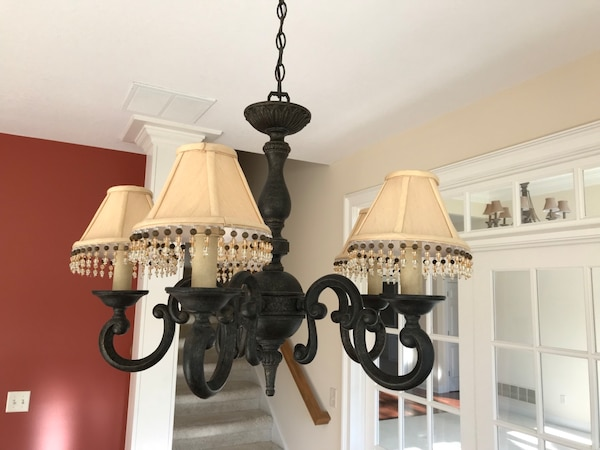 French Provincial Light Fixture Chandelier