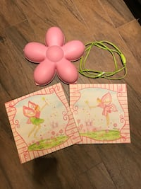 Pink fairy Canvas x 2