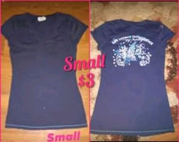 Ladies Small Shirts