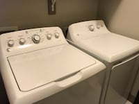 GE washer and dryer. 1 owner purchased in 2017 hose for washer included Richardson, 75082