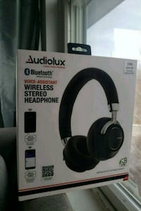 Headphones: Audiolux bluetooth voice-assistant wireless stereo Braintree, 02184