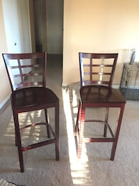 Brown wooden highchairs, in perfect condition  Sacramento, 95827