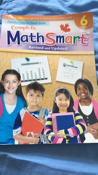 Math Smart book in poerfext condition Toronto, M2J