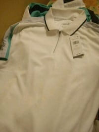 white and green polo shirt District Heights, 20747