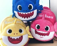 Personalized Baby Shark Backpacks Langley, V2Y 0B4
