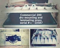 Commercial 200 dry mounting and laminating press  Corpus Christi, 78410