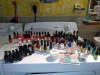 New and slightly used nail polish  Edmonton, T5B 3W3