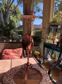 Metallic shell candle holder West Melbourne, 32904