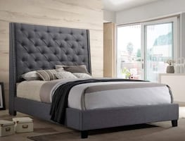 Nice bed frame queen $299 ,mattress for separately..
