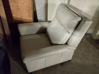Leather Chair Lounger COLUMBUS