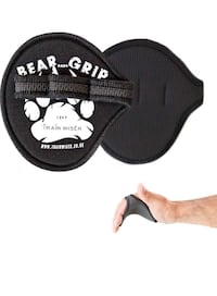 Bear Grip open aired training gloves