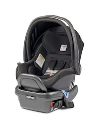 Peg Perego car seat onyx new condition  Vaughan, L4L 9M6
