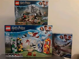 Lego Harry Potter Sets x3 Sealed Brand New Never Opened
