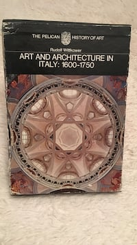 Art and architecture in italy 1600-1750 book Toronto