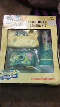 Spongebob flashlight & camera kit San Bernardino, 92410