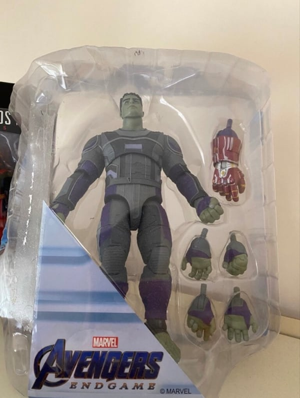 Marvel Select Hulk Nano Gauntlet 5d267ee7-fd66-49d6-b8ce-70163692e4cd