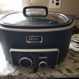 Ninja 3-in-1 cooking system MC751, never used