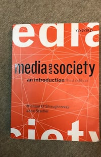 Media and Society 3rd edition Arlington, 22204