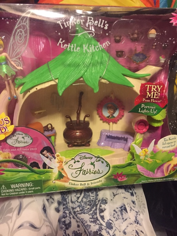 Tinker Bell little fairies set with lights and sound. Brand new by Disney.