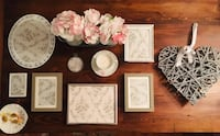 Rustic, shabby chic home decor in grey & white! RE Edmonton, T5M 0V9