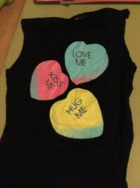 Cute free V- Day tank top Lage