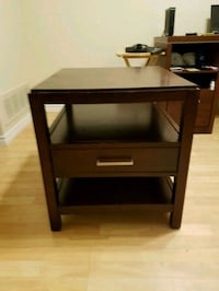 1 Drawer Bedside Table / End Table New Tecumseth, L9R 1C6